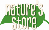 Natures Store Logo with Leaf