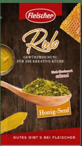 BBQ Rub - dieses Bild zeigt die Verpackung der Rub Sorte Honig Senf