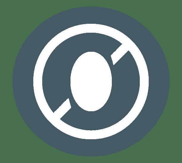 Dieses Bild zeigt ein Ei-frei Logo, also dass das Produkt ohne Ei zubereitet wurde