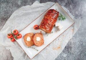 Cevapcici Gewürzsalz: dieses Bild zeigt eine Bacon Bomb