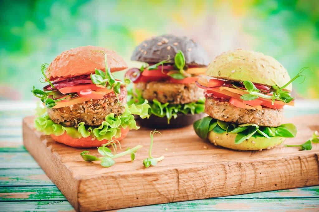 veganer/vegetarischer Burger: wir bieten auch Würzungen für fleischlose Alternativen an