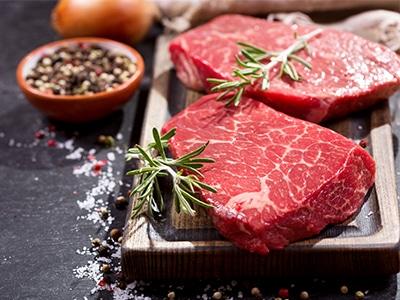 Fleischzartmacher: dieses Bild zeigt rohes Fleisch